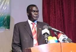 Clement Wani Konga, one of the 10 advisors
