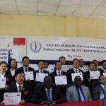 Fifteen Chinese doctors in Juba to assist local staffs