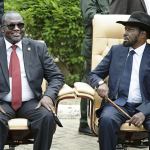 Kiir, Riek asked how they'd be remembered by historians