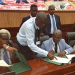 Parties initialize peace deal in Khartoum